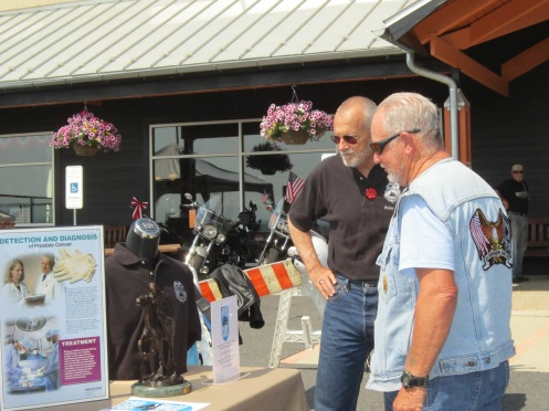 Prostate Cancer Pony Express at Shenandoah Harley-Davidson